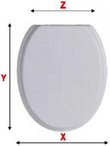 Sedile Legno Poliver Universal Basic Carrara&Matta Idraulica Sedili W.C.
