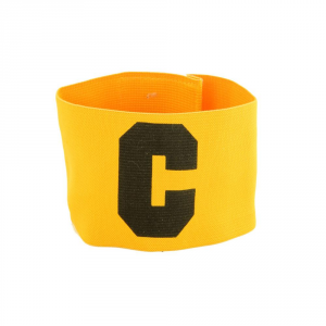 Band Elastic Captain Football Table Football Team Sport Yellow Black 256-4