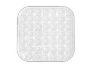 HOME Sink Mat 30X30 Cm Tripply Transparent Fabrics For The Kitchen