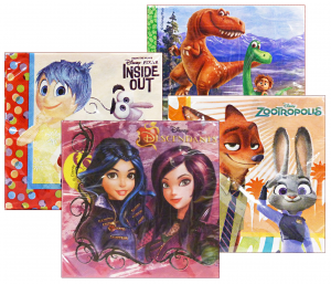 GABBIANO Napkins Disney 27672 33X33 Assorted For Parties And Opportunities