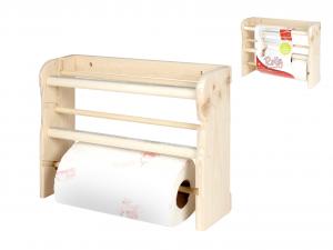 HOME Shelf 3 Wheels Light Wood Kitchen Furniture And Furnishing