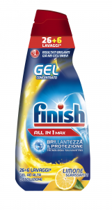 Finish Mark All In One Lemon - 650 Ml Gel Dishwasher Detergents