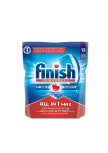 FINISH All In One Max 13 Regular Detergents Dishwasher