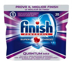 Finish Quantum Max 20 Tabs Pads Dishwasher Regular - 310 Gr Detergents