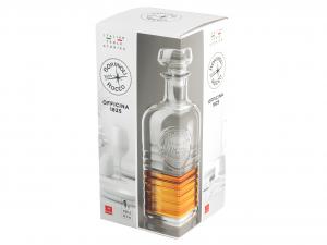 BORMIOLI ROCCO Bottiglia Wisky Officina 1825 Lt 1 Prodotto Made In Italy