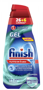 FINISH All in One Strength and purity Mark - 650 ml Gel Dishwasher Detergents