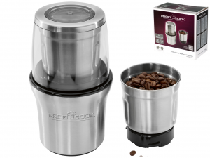 PROFICOOK + Grinder electric coffee grinder 200w Food Preparation