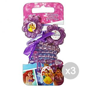 Set 3 GABBIANO Collier + Clic Clac Disney Princesse 36670 (36066) Accessoire Pour les cheveux