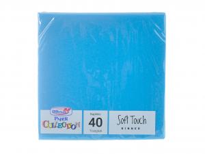 DOPLA Confezione 40 Tovaglioli Soft 2 Veli 38X38 Turch