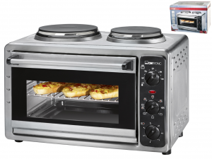 PROFICOOK electric oven l26 1500w and 2 plates Small kitchen appliances