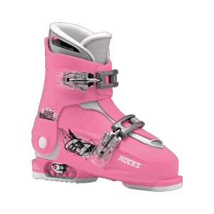 ROCES Scarponi da Sci Junior Allungabile IDEA UP taglia 19-22 rosa-bianco 450491