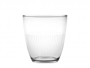 CHIO Confezione 3 Bicchieri Vetro Chio Pois 25 cl
