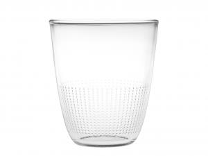 Set 8 CHIO Confezione 3 Bicchieri Vetro Pois 31 Cl