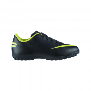 Junior Football Shoes NIKE JR MERCURIAL VICTORY III TF black 509114 *