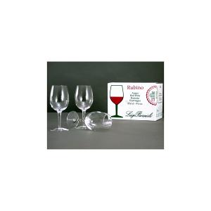BORMIOLI LUIGI Confezione 6 calici in vetro rubino acqua 27.6 Arredo tavola