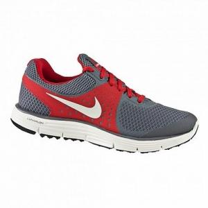 Men's Running Shoes Nike Lunarswift + 4 Gray Red 510787 *
