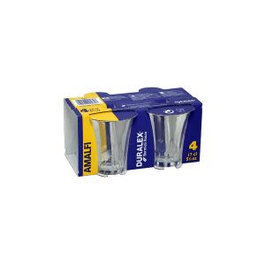 DURALEX Set 12 x 4 bicchieri in vetro duralex amalfi cl17 Arredo tavola