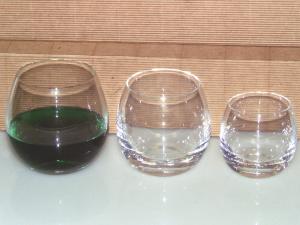 BOHEMIA Set 6 bicchieri rolypoly vino 29 Arredo tavola