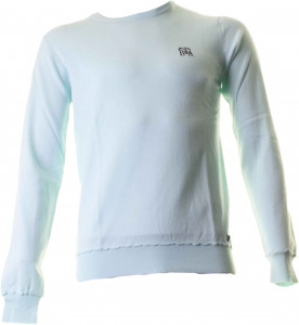 BACI & ABBRACCI cuello redondo hombre parches unidos 95% algodón- 5% elastano