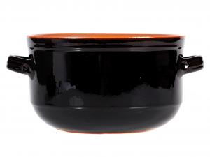 DE SILVA Umidiera ceramica marrone cm24 Pentole e preparazione cucina