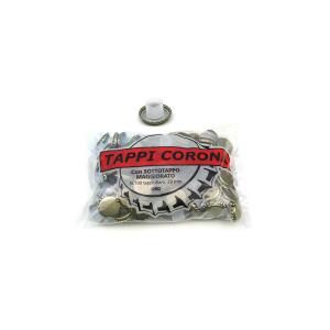 CASALINGHI Pack 100 tappi corona conbidules Bottiglie Arredo tavola