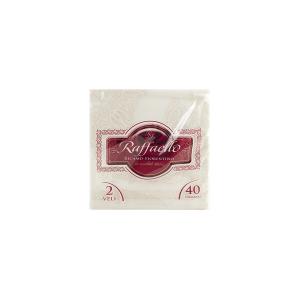 Pack de 40 serviettes 38x38 cm de linge de table