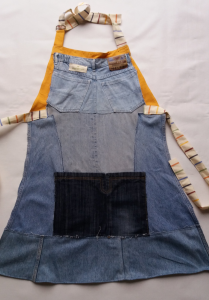4 Grembiuli in jeans