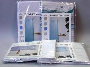 BACCHETTA & TRACANZAN Tenda doccia pvc 240x200 colori assortiti Arredo bagno e accessori