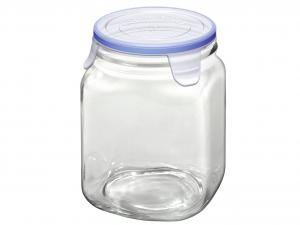 BORGONOVO Set 6 Barattoli vetro superblok cc1000 Contenitori per cibo
