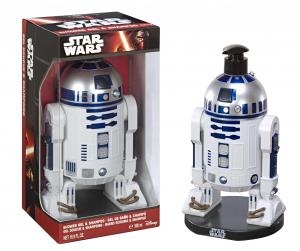 AIR-VAL Star Wars R2D2 Gel Doccia 3D 500 Ml Prodotti Bagno