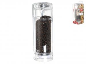 BISETTI Macinapepe acrilico trasparente cm15h Utensili da cucina