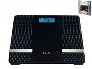 LAICA Pesapersone Elettrica Bluetooth 180Kg