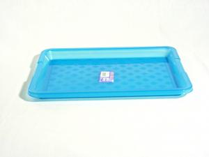 DEM Tray Rectangular Color Blue Frosty 36X26