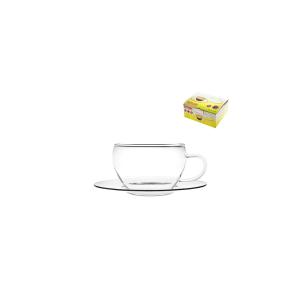 BOHEMIA Confezione 4 Tazze Caffè Con Piattino Brs CL10 Arredo tavola