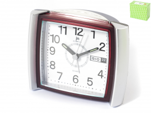 ROWELL Alarm Quartz With calendario Decoration House