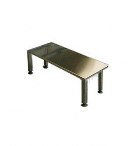 Bench Stainless Steel Aisi 304 2 Place Feet Adjustable Nylon 100x40x45h