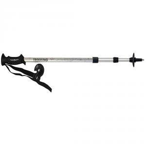 GABEL-Sticks Trekking OVER ANTI SHOCK Silber 70054105 erweiterbar