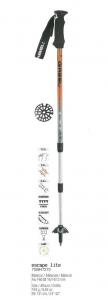 GABEL Bastoncini nordic walking regolabili ESCAPE LITE LADY silver arancio xxx