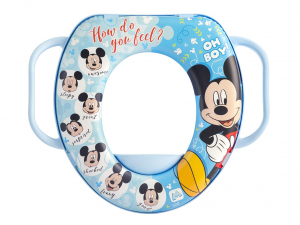 LULABI Reducer Wc Disney Mickey 3 With Handle Plastic And Pvc