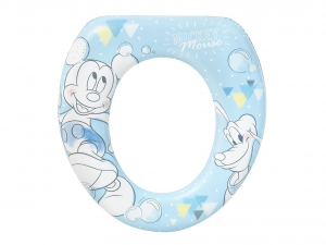 LULABI Reducer Wc Soft Disney Mickey Tender Plastic And Pvc