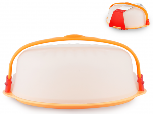 BIESSE Portadolci trendy arancio 32.5 Contenitori cucina barattoli