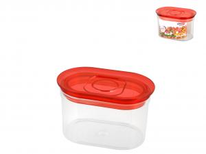BIESSE Barattolo ovale trendy lt0.75 rosso Contenitori cucina barattoli