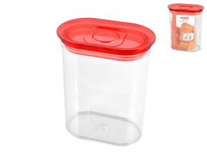 BIESSE Barattolo ovale trendy lt1.55 rosso Contenitori cucina barattoli