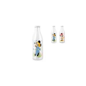 HOME Set 6 Bottiglie Latte Disney Risveglio Arredo Tavola