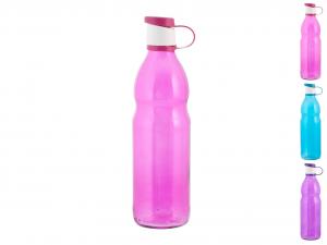 HOME Bottiglia Vetro Colore Assortito Lt0,75