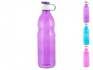 HOME Bottiglia Vetro Colore Assortito Lt1,0