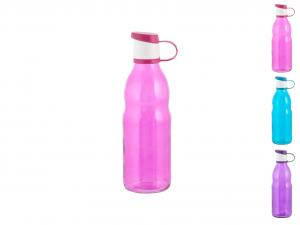 HOME Bottiglia Vetro Colore Assortito Lt0,5