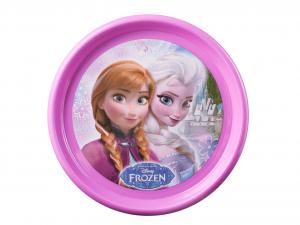 LULABI Set 6 Piatto Polipropilene Disney Frozen Piano 22,5