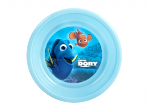 LULABI Set 6 Piatti Plastica Disney Dory Fondo Centimetri 16 Arredo Tavola