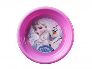 LULABI Set 6 Piatto Polipropilene Disney Frozen Fondo Cm.16